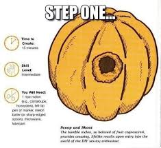 Pumpkin Carving Meme - the origins of pumpkin carving imgur