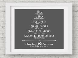 65th wedding anniversary gifts 65th wedding anniversary gift for parents 65 years wedding 65