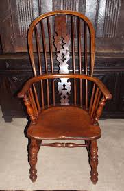High Back Windsor Armchair Fine 19thc Yew Wood High Back Windsor Chair C1860 Antiques Atlas