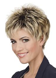 short haircuts with volume hair style and color for woman