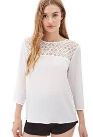 forever 21 white blouse forever 21 blouses dress images