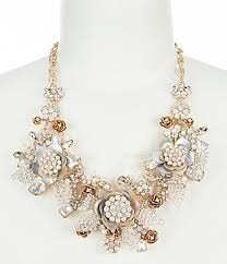 necklace metal images Women 39 s statement necklaces dillards jpg