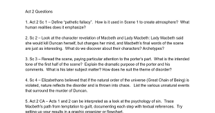 themes of macbeth act 2 scene 1 act 2 questions google docs