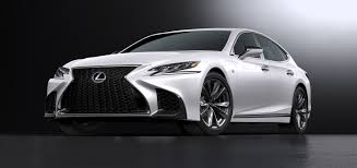 spicier f sport version of lexus ls 500 flagship sedan announced