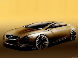 golden cars wallpaper volvo s60 concept 2009 pictures information u0026 specs