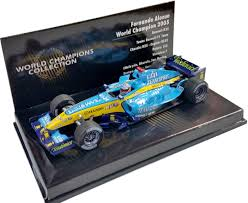 renault f1 alonso minichamps 1 43 2005 renault f1 r25 wc fernando alonso