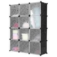 rangement armoire chambre langria 12 cubes armoire chambre penderie modulable garde robe pour