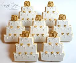 50th anniversary favors 50th wedding anniversary cookie favors 50th wedding annive flickr