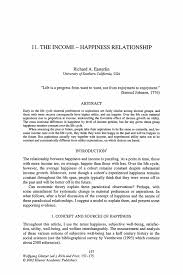 Casual Job Resume by The Income U2014 Happiness Relationship Springer