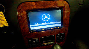 mercedes benz s430 comand radio replacement youtube