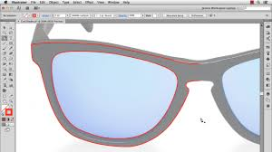 illustrator tutorial create 3d sunglasses blog