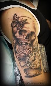 best 25 clock and rose tattoo ideas on pinterest clock tattoos