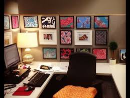 office decor small decoration themes cubicle desk layout design