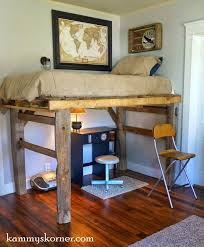 Make Wooden Loft Bed by Best 20 Pallet Loft Bed Ideas On Pinterest U2014no Signup Required