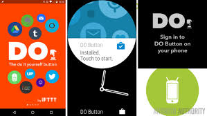 ifttt android if and do button by ifttt on android wear android customization