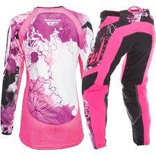 pink motocross gear bag fly racing 2017 mx new kinetic white pink purple womens motocross