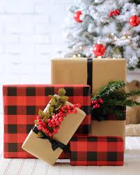 christmas plaid wrapping paper christmas wrapping paper buffalo check wrapping paper plaid