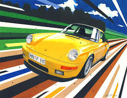 porsche ruf yellowbird ruf yellowbird by klem on deviantart