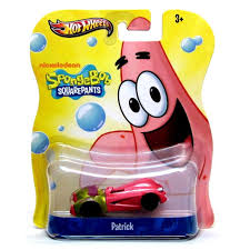 amazon com patrick star wheels spongebob squarepants die cast