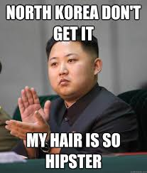 My New Haircut Meme - kim jong un haircut funny kimmy boy pinterest haircuts