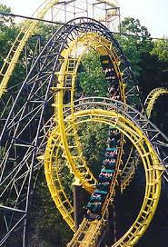 Busch Gardens Williamsburg New Ride by Loch Ness Monster Roller Coaster Photos
