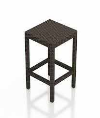 forever patio hampton wicker backless barstool wicker com