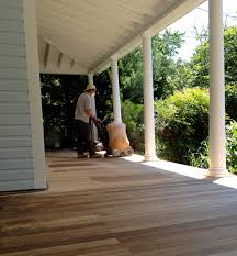 Stain Old Concrete Patio by Front Porch U2013 Part 3 Of 3 Where We Sand And Stain The Floor But