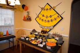construction party ideas construction birthday party ideas photo 1 of 15 catch my party