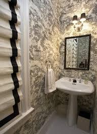Striped Wallpaper Bathroom 7 Best Bathroom Images On Pinterest Bath Bath Ideas And