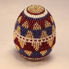 159 best beaded eggs images on beading and