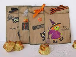 luv 2 scrap n u0027 make cards halloween treat bags