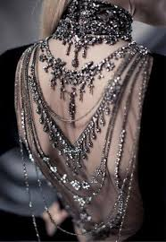 back jewelry necklace images Dress open back jewelry jewels backlace necklace chain jewelled jpg