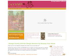 cal coast web design interior design website design