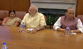 Cabinet Of Narendra Modi Narendra Modi Chairs Cabinet Committee On Security Meeting