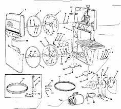 craftsman table saw parts model 113 craftsman 113243311 parts list and diagram ereplacementparts com