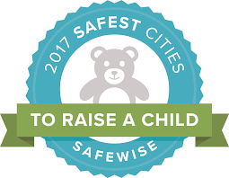 the 30 safest cities to raise a child in america 2017 safewise