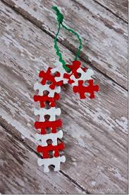 diy puzzle ornament 25 days to an organized