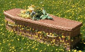 wicker casket wicker coffins and caskets coffin it up funeral industry