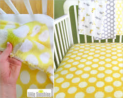 Sheets For Crib Mattress Fleece Fitted Crib Sheet Sew4home