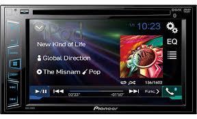 pioneer avh 270bt dvd receiver at crutchfield com