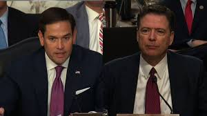 james comey gang of eight rubio to comey why no pro trump leak cnn video