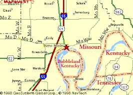 map of ky and surrounding areas motel magazine in search of the bubblelanders