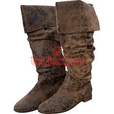 Decorated Walking Boot Womens Leather Boots Period Shoes And Steampunk Boots From Dark