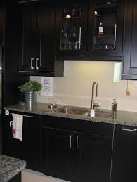 Red And Black Kitchen Cabinets by Kitchen Black Kitchen Cabinets In Various Mixtures Black