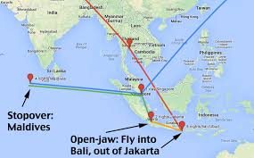 Singapore Airlines Route Map by All About Our Honeymoon Trip Bali Jakarta Singapore And The