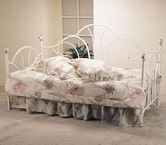 acme furniture provence day bed with porcelain knob and decorative