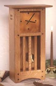 Wood Project Plans Small by Arts And Crafts Mission Mantle Clock Woodworking Plan Home