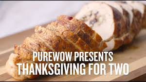 this stuffed wrapped turkey breast is the thanksgiving