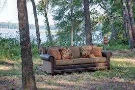 mayo furniture 1680lf leather fabric sofa comfort oak https