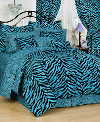 Twin Size Bed In A Bag Pink Zebra Print Dorm Room Bedding Extra Long Twin Size Bed
